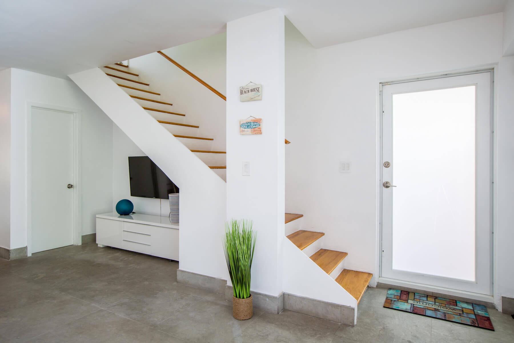 un escalier maison miami beach