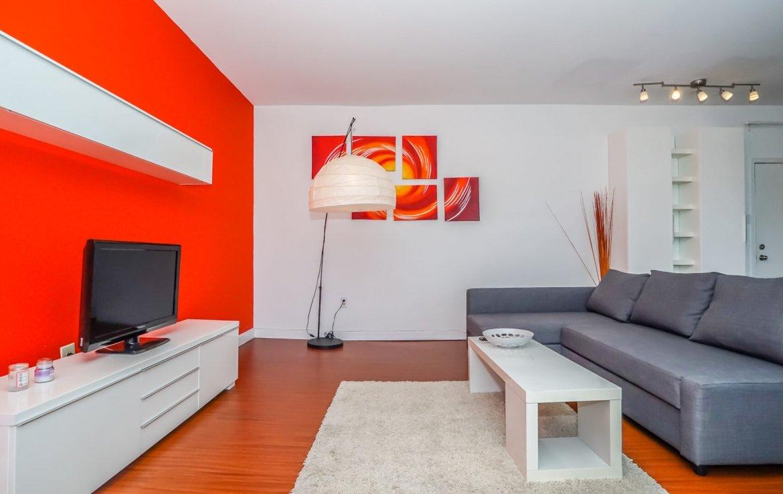 appartement miami beach salon