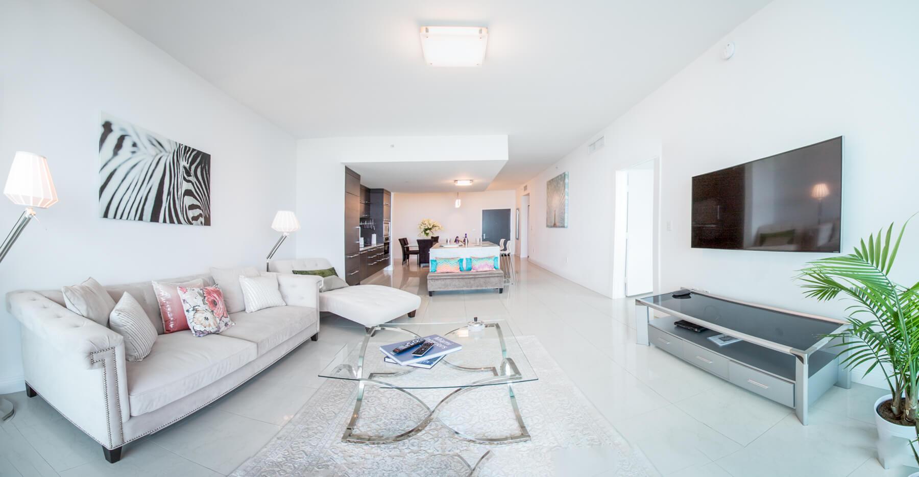 une location d'appartement à miami downtown